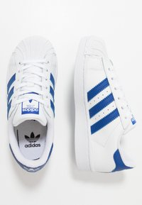adidas Originals - SUPERSTAR  - Sneakers laag - footwear white/royal blue - 1