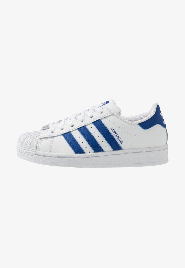 SUPERSTAR  - Baskets basses - footwear white/royal blue