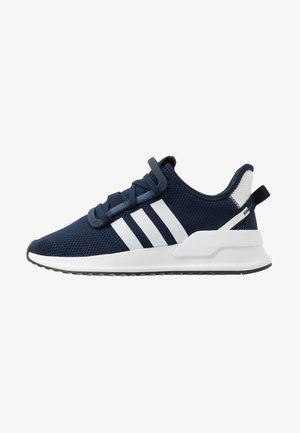 PATH RUN - Matalavartiset tennarit - collegiate navy/footwear white/core black