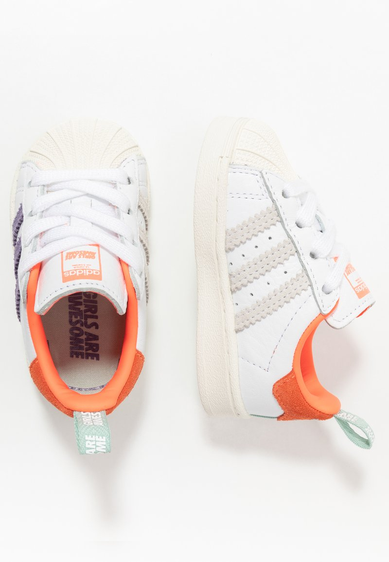 adidas Originals - SUPERSTAR EL I - Sneakers laag - white
