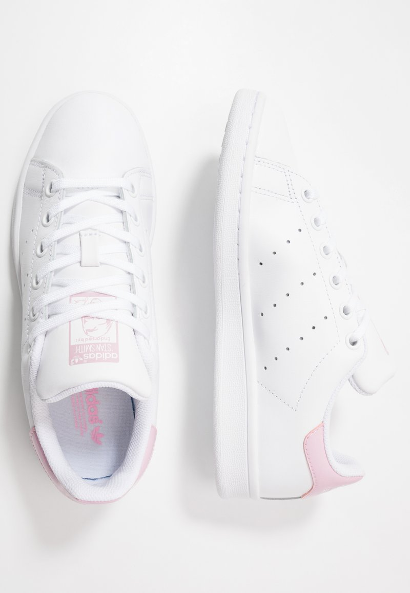 adidas Originals - STAN SMITH - Baskets basses - footwear white/true pink