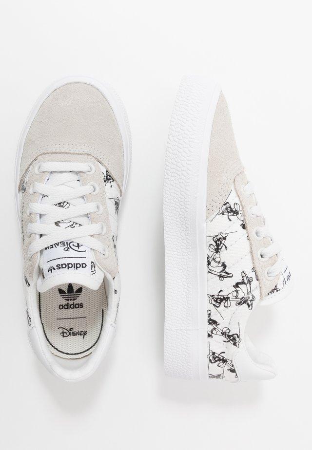 DISNEY SPORT GOOFY - Sneakers basse - crystal white/footwear white/core black