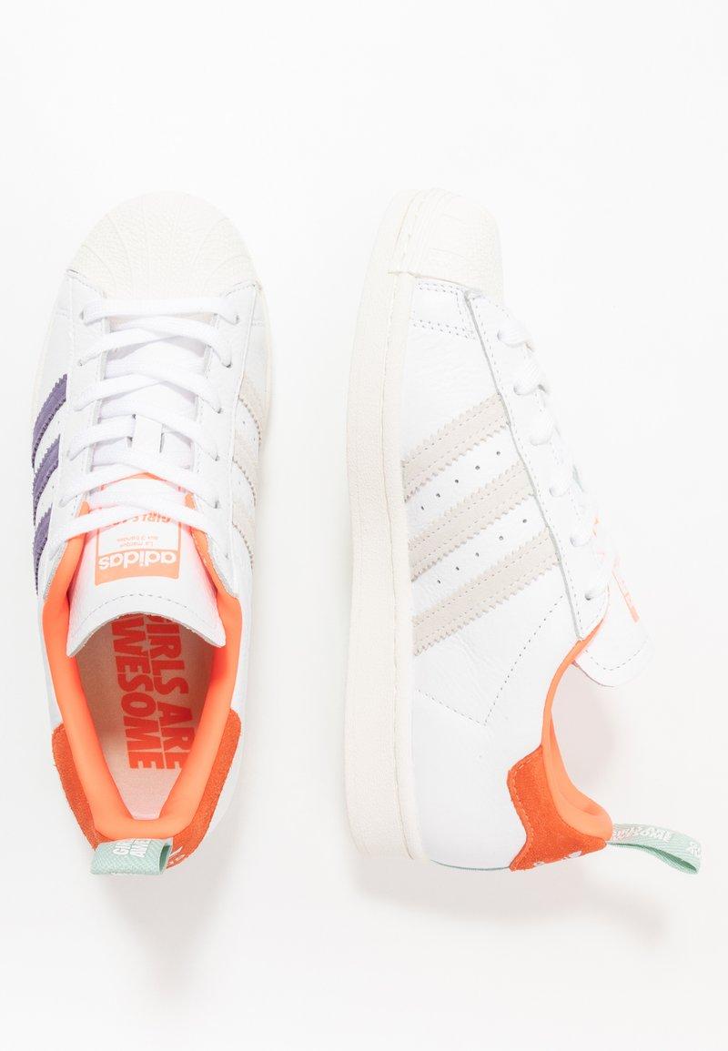adidas Originals - SUPERSTAR - Sneakers laag - white