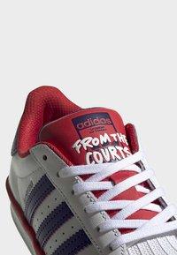 adidas Originals - SUPERSTAR SHOES - Trainers - white - 7