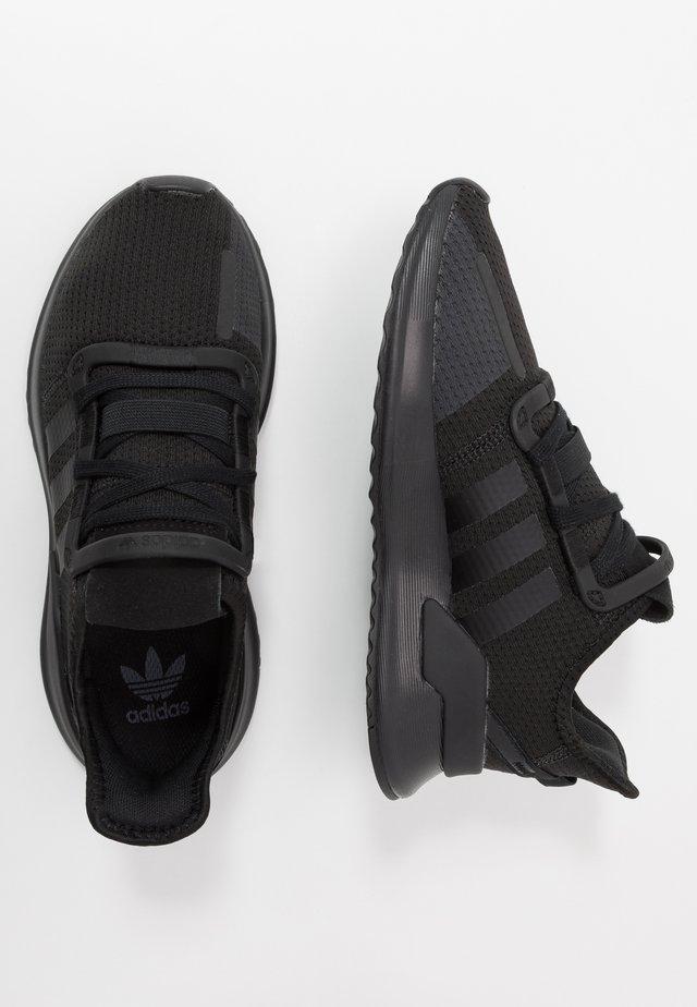 U_PATH RUN - Sneakers - core black/footwear white