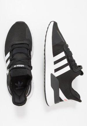 U_PATH RUN - Sneakers - core black/footwear white/shock red