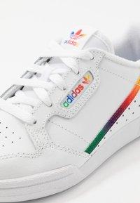 adidas Originals - CONTINENTAL 80 - Baskets basses - footwear white/core black - 2