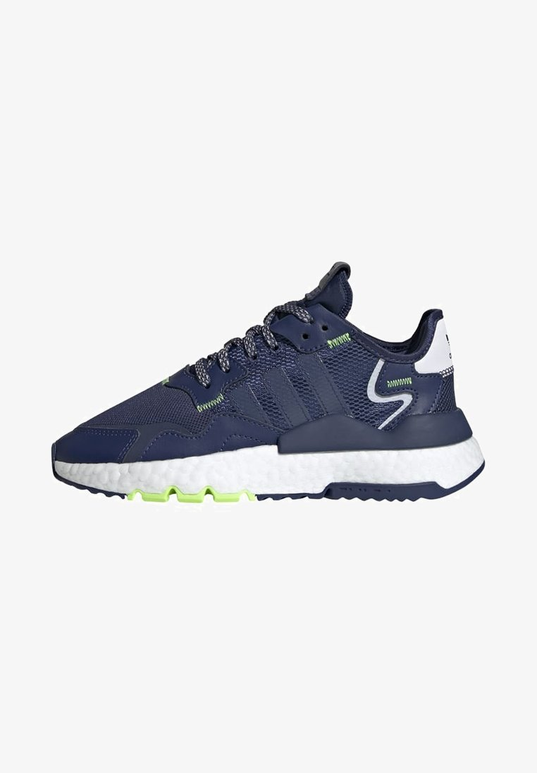 adidas Originals - NITE JOGGER SHOES - Sneakers basse - blue