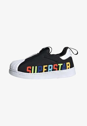 SUPERSTAR 360 X SHOES - Sneakers laag - black