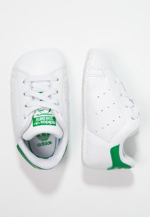 STAN SMITH CRIB - First shoes - white/green