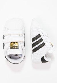 adidas Originals - SUPERSTAR  - Scarpe neonato - white/core black - 1