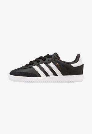 SAMBA - Sneakers laag - core black/footwear white