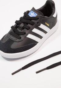 adidas Originals - SAMBA - Sneakers - core black/footwear white - 6