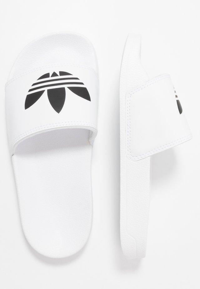 ADILETTE LITE - Sandaler - footwear white/core black