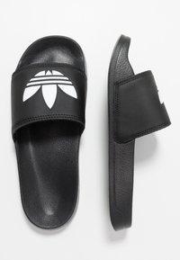 adidas Originals - ADILETTE LITE - Ciabattine - core black/footwear white - 0