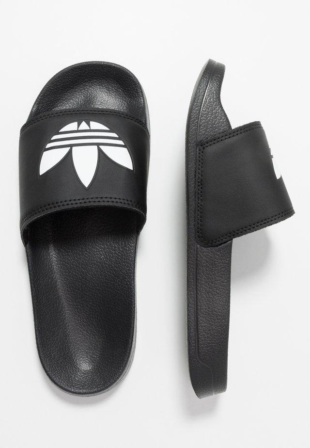 ADILETTE LITE - Sandaler - core black/footwear white