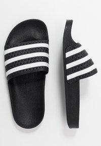 adidas Originals - ADILETTE - Ciabattine - core black/footwear white - 0