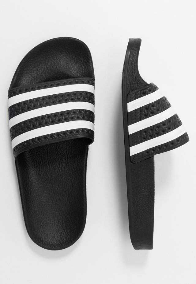 ADILETTE - Ciabattine - core black/footwear white