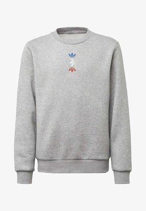 LARGE LOGO CREW SWEATSHIRT - Sweatshirt - grey