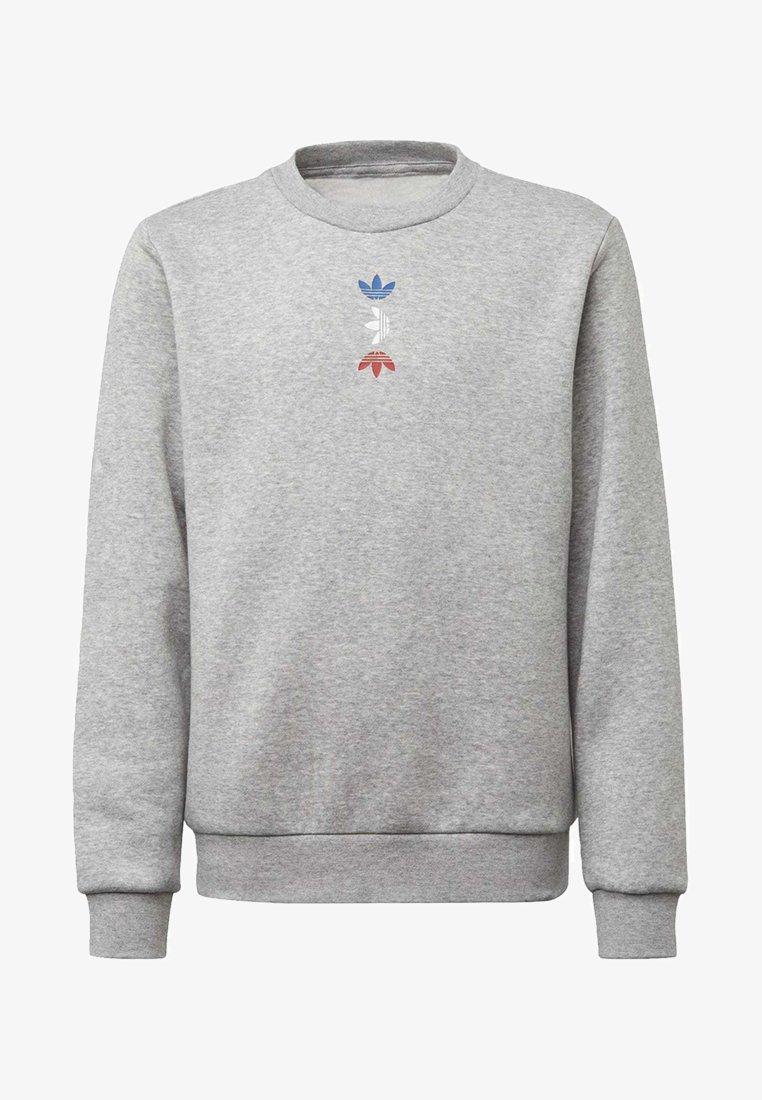 adidas Originals - LARGE LOGO CREW SWEATSHIRT - Sweatshirt - grey