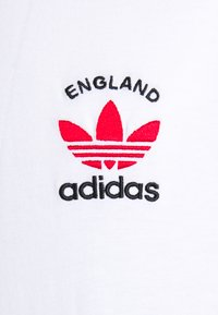 adidas Originals - STRIPES SPORTS INSPIRED SHORT SLEEVE TEE UNISEX - T-shirt imprimé - white/scarle - 2