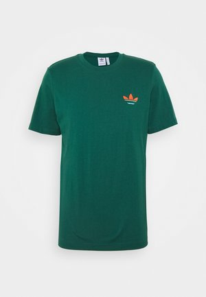 MULTI TEE - Print T-shirt - collegiate green