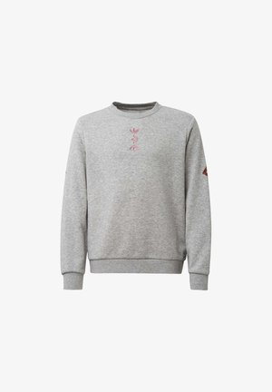 LARGE LOGO CREW SWEATSHIRT - Felpa - grey