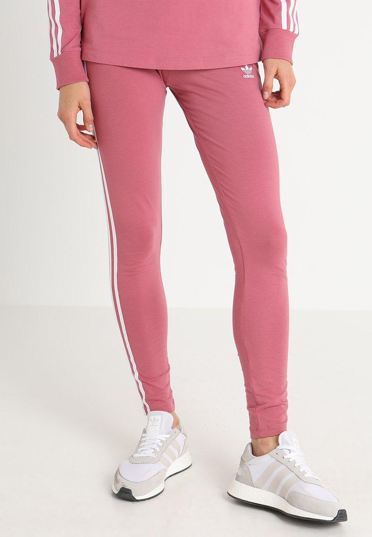 adidas Originals - ADICOLOR 3 STRIPES TIGHTS - Leggings - Trousers - trace maroon
