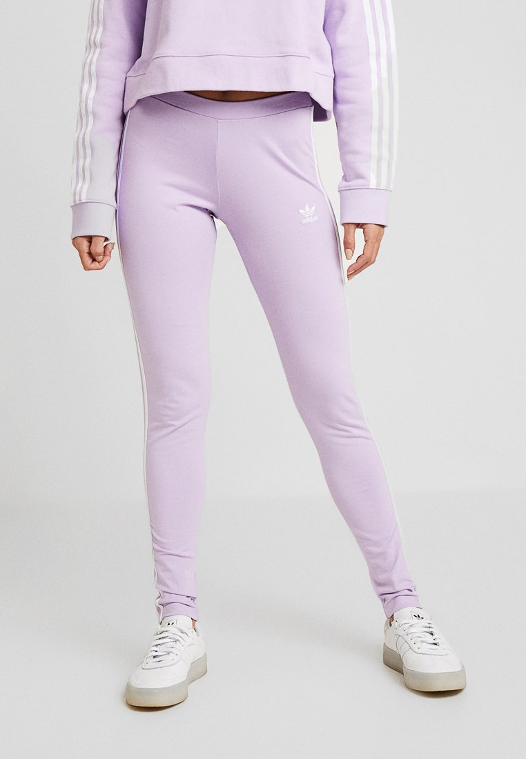 adidas Originals - ADICOLOR 3 STRIPES TIGHTS - Legging - purple glow