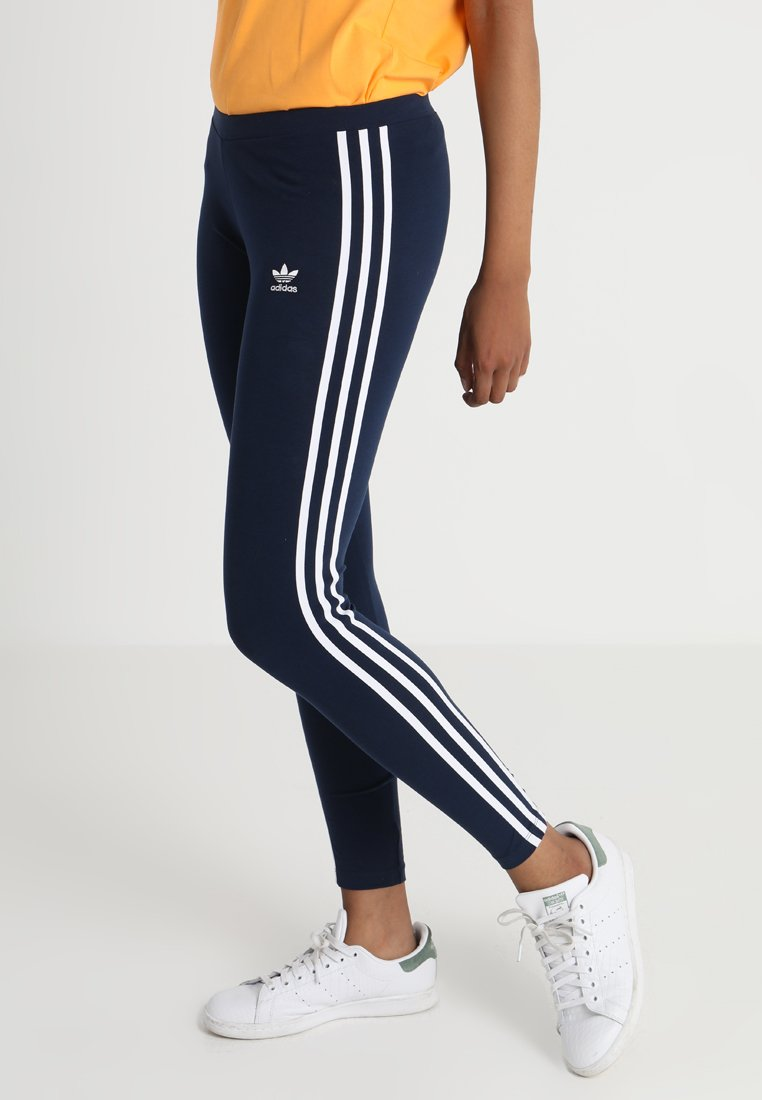 adidas Originals - ADICOLOR 3 STRIPES TIGHTS - Legging - collegiate navy