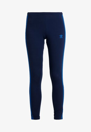 ADICOLOR 3 STRIPES TIGHTS - Legging - collegiate navy/bluebird