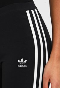 adidas Originals - ADICOLOR 3 STRIPES TIGHTS - Legginsy - black - 4
