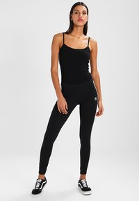 adidas Originals - ADICOLOR 3 STRIPES TIGHTS - Leggings - black - 2