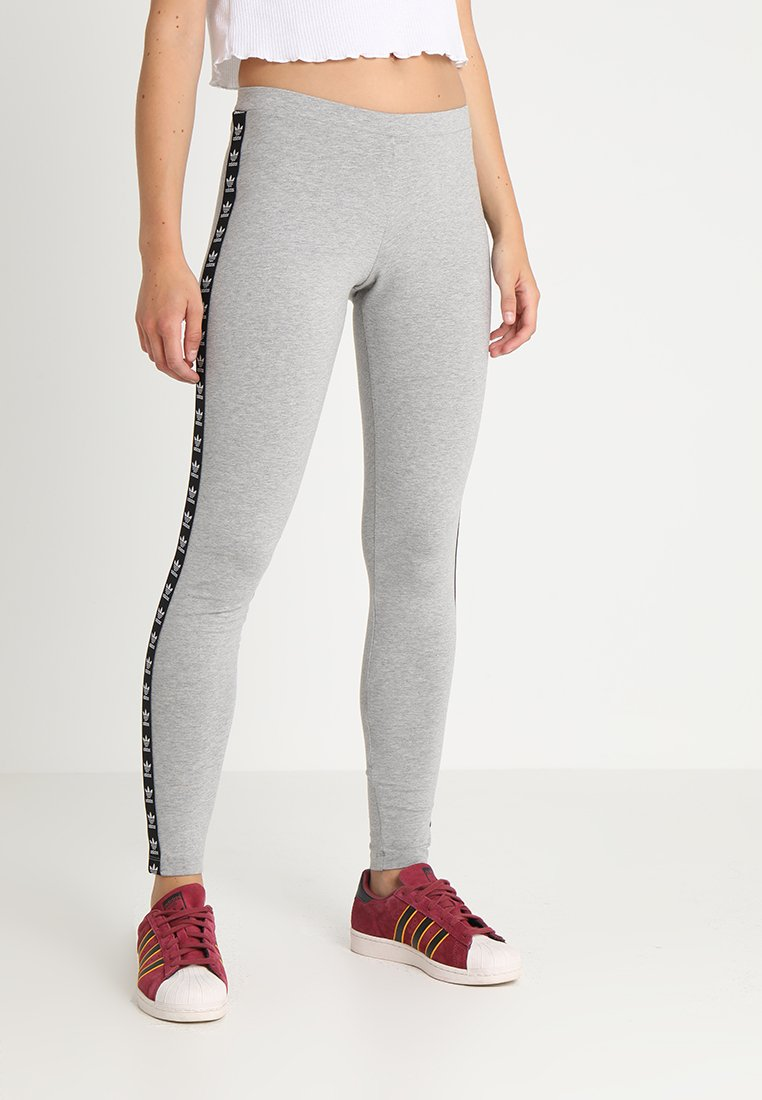 adidas Originals - TIGHT - Leggings - medium grey heather