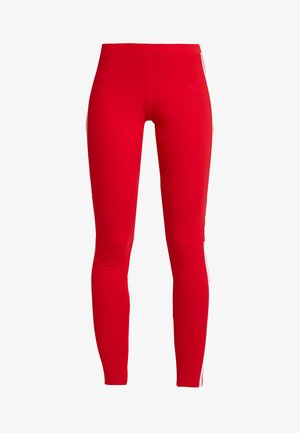 ADICOLOR TREFOIL TIGHT - Legginsy - scarlet