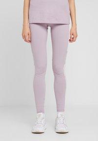 adidas Originals - ADICOLOR TREFOIL TIGHT - Leggings - lilac - 0