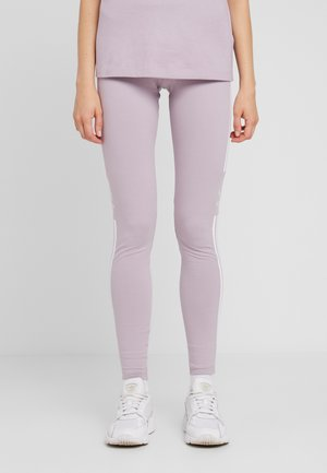 ADICOLOR TREFOIL TIGHT - Leggings - Trousers - lilac