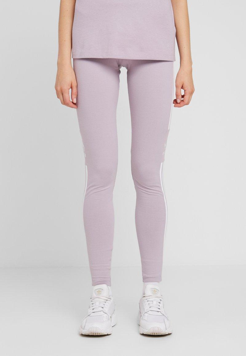 adidas Originals - ADICOLOR TREFOIL TIGHT - Leggings - lilac