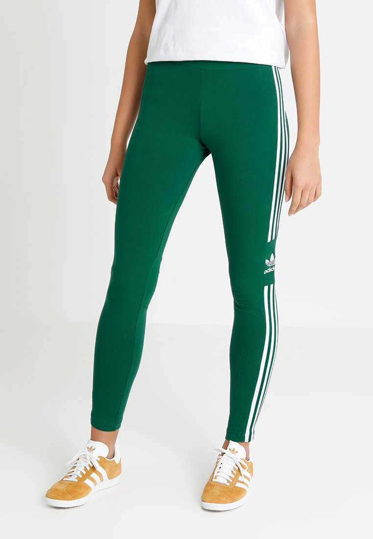 adidas Originals - TREFOIL TIGHT - Leggings - collegiate green