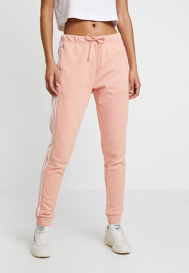adidas Originals - REGULAR CUF - Tracksuit bottoms - dust pink