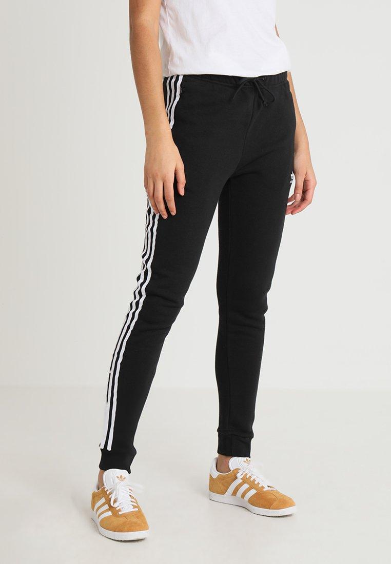 adidas Originals - REGULAR CUF - Jogginghose - black