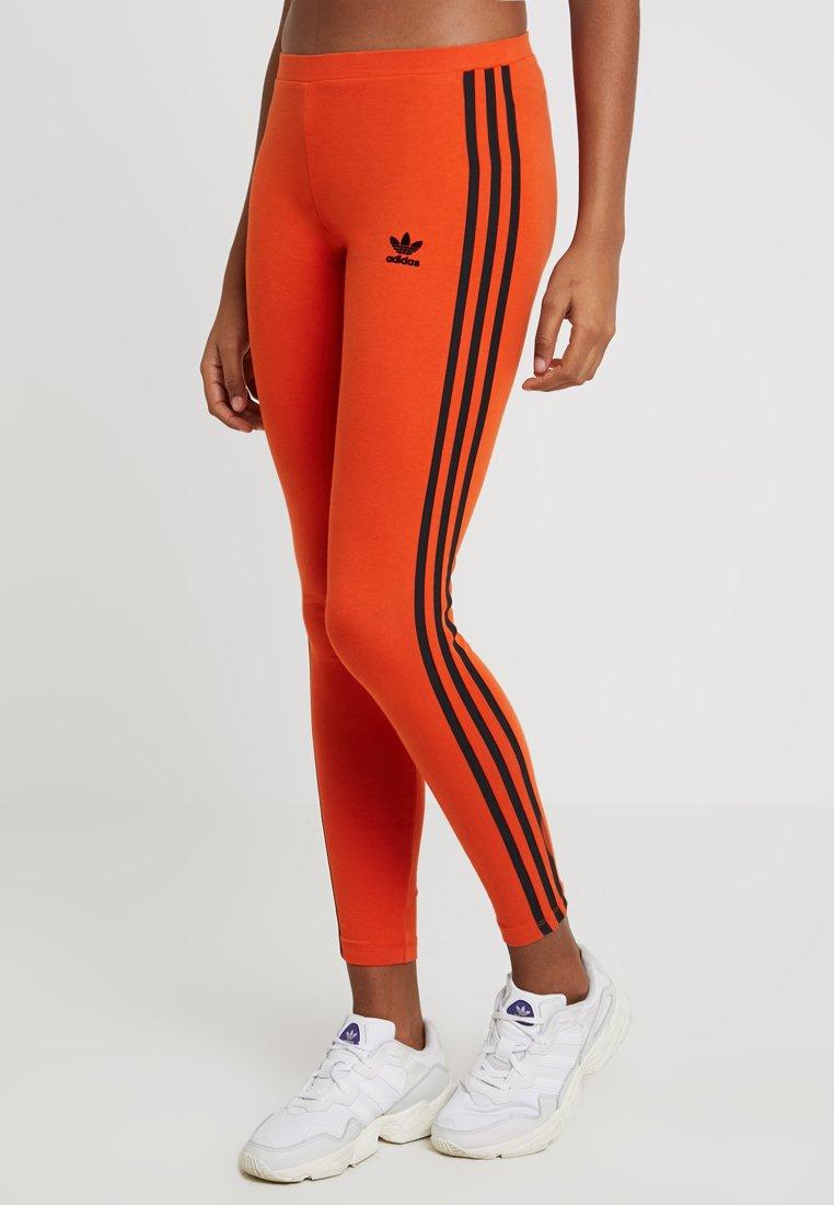 adidas Originals - TIGHTS - Leggings - Hosen - craft orange/black