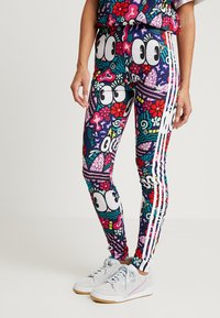 adidas Originals - 3 STRIPES TIGHT - Leggings - Trousers - multicolor - 0
