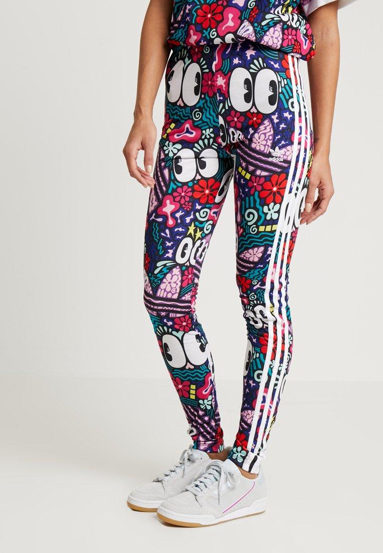 adidas Originals - 3 STRIPES TIGHT - Leggings - Trousers - multicolor