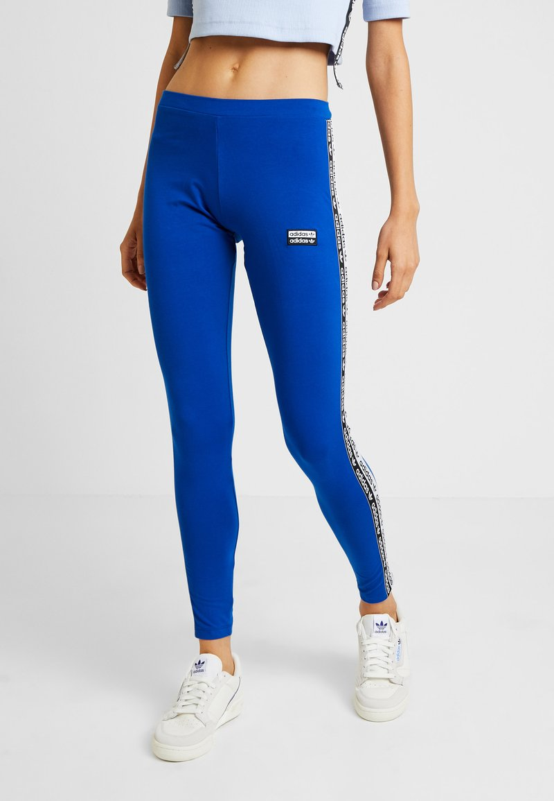 adidas Originals - TIGHTS - Leggings - Trousers - collegiate royal