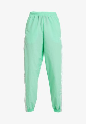 LOCK UP ADICOLOR NYLON TRACK PANTS - Tracksuit bottoms - prism mint/white