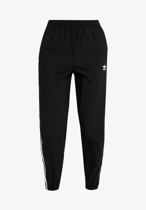 LOCK UP ADICOLOR NYLON TRACK PANTS - Tracksuit bottoms - black