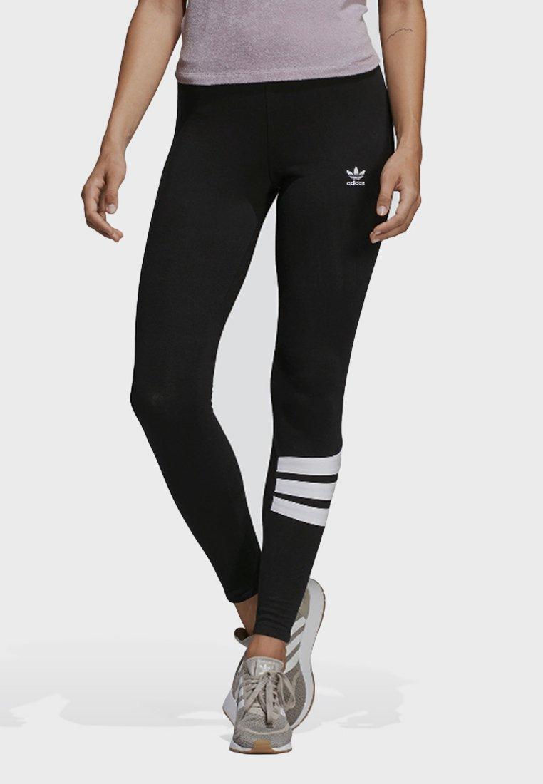 adidas Originals - LEGGINGS - Leggings - Trousers - black