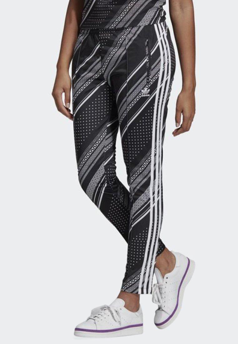 adidas Originals - SST TRACKSUIT BOTTOMS - Tracksuit bottoms - black