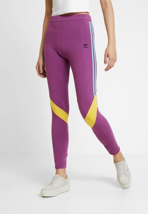 TIGHTS - Leggings - Hosen - rich mauve